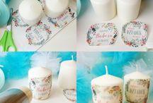 świeczki itp na prezent