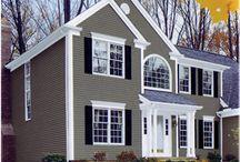 Exterior Home ideas / by Amanda Sparkes