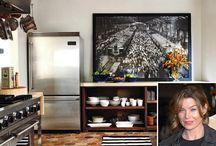 Celebrity Tiled Kitchens