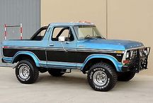 Ford Bronco Mediun y New