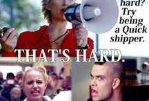 Glee - Quinn and Puck