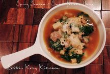 Soups & Chowders / Soups and chowders for staying warm during the colder months.