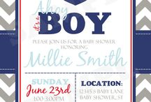 baby shower boy navy