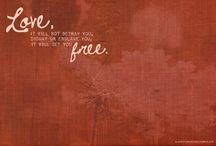 Be free, soul creatures <**> / by Rachel Faye