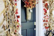 20 Thanksgiving Home Door Decoration Ideas / 20 Thanksgiving Home Door Decoration Ideas