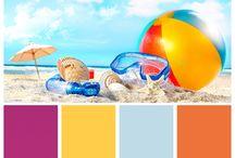 Colour Palettes / A collection of colour palettes created using Venesta colours