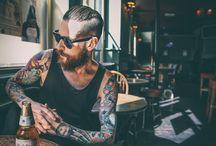 Tattooed boys