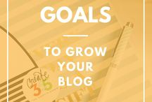 Blogging Tips / Sharing tips to grow a successful blog!