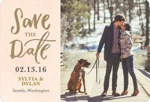 Wedding invitations, save the date & thank you cards