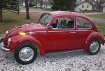 VW bug's / by Christine Butzlaff