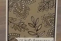 Stampin up leaves