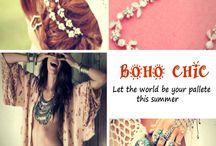 Boho Chic Fashion Collection