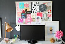 Ambitious Office Spaces / The most fabulous office spaces fit for the most fabulous female entrepreneurs. / by Jenny Singh