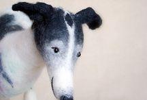 dog greyhound creatively