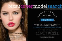 COVER MODEL SEARCH / COVER MODEL SEARCH 4 BIZSU MAGAZINE / by BIZSU MAGAZINE