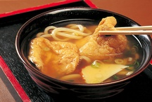 Japan: Noodles 麺類 / I don't same many dishes here because I can't eat most noodles, d'oh.