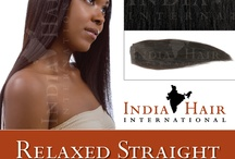 Indian Relaxed Straight / RSD Steam Permed Relaxed Straight 100% Human Hair