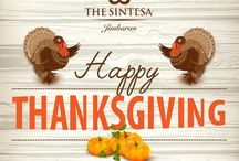 Celebrate / Thanksgiving holiday may be American, but being thankfuland expressing gratitude is a universally human sentiment.  Happy Thanksgiving Everyone !  #Thesintesajimbaran #sintesahotels #jimbaran www.thesintesajimbaran.com