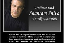 Meditate with Shahram Shiva in Hollywood Hills / by Shahram Shiva