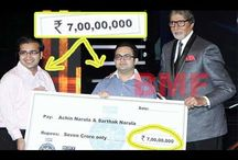 KBC gets its first Rs. 7-crore winner - Narula brothers, Achin and Sarthak