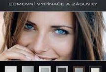 Domové vypínače Logus90 od ELKO EP SLOVAKIA / drevo, sklo, kov, kameň, pestrofarebné plasty