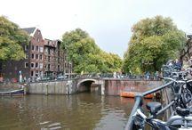 Amsterdam op de fiets / Amsterdam by bike
