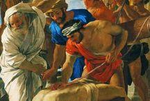 Poussin Nicolas. Les Andelys 1594. Roma 1665 / lavora per i Barberini, dopo che Giovan Battista Marino lo aveva condotto a Roma da Parigi