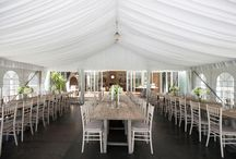 Country Marquee Weddings / A marquee is the perfect way to create your country themed wedding.  To be outside is the essence of a country wedding and a marquee gives you a blank canvas to create your dream day in any location.  Here are few of our favourites...