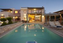 Villa Serenity #Crete #Greece #Island / Villa Serenity is a prestigious residence set in the beautiful Gerani area, in Rethymnon, considered as one of the most luxurious villas on the island. http://www.mygreek-villa.com/rent-villa-search/villa-serenity