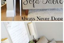 DIY Livingroom Ideas / by KD **