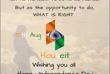 Independence Day / Team Houseit wishing you all Happy Independence Day