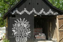 barns and buildings / by Lindsay Ostrom