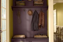 laundry room mud room / by Amber Hood