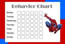 Kids star chart