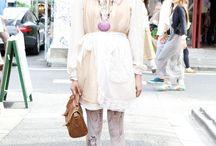 Tokyo Fashion / Amazing street Fashions right off the streets of harajuku, shibuya and shimokitazawa! Gotta love Japan! / by Shermain Maria-Penson