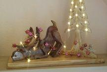Weihnachten Basteln / Weihnachts Elch