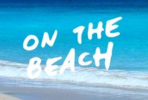 on the beach / summer | beach | sand | sun | fun
