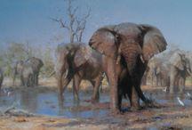 Love Elephants (Trunks Up)
