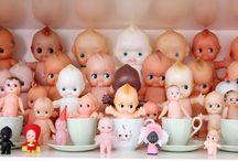 les jouets anciens / bambi , pouets , poupées , ours , peluches ...