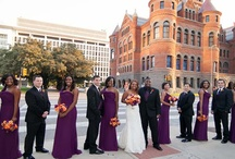 bridal party style / .:the gorgeous entourages that support our As You Wish couples:.