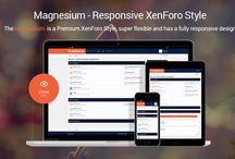 Magnesium / The Magnesium is a Premium XenForo Style built in the Stylium Framework that super flexible.  Get more at: https://brivium.com/resources/magnesium.129/