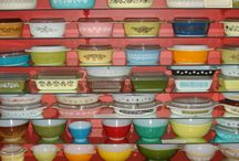 Pyrex, Corningware, Fire King etc.