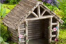 birdhouses and fairygardens