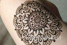 Henna tatuointi ideat