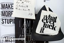 Tote Bags with Typography / Foto: Wojciech Duda