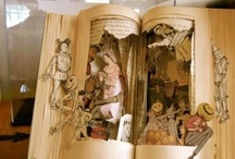 Altered Books & Paper Arts / Ideas for the altered book show / by Colleen Pardee