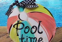 Pool time / by Celina Newton
