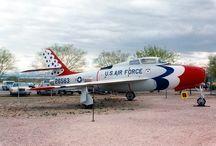 Republic F-84F / Pima Air & Space Museum : Tucson, Arizona 1990 Republic F-84F