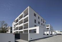 BUDYNKI MIESZKALNE/ HOUSING BUILDINGS / Realizacje i projekty biura HRA Architekci / Realisations and proejcts of HRA Architkeci