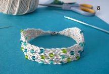 szydełko - biżuteria / crochet - biju